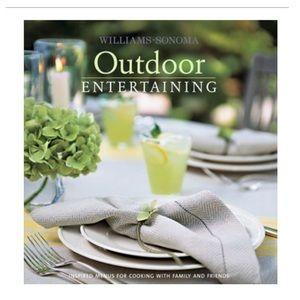 Williams-Sonoma Outdoor Entertaining; Hardcover
